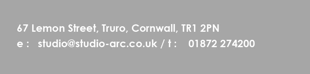 Contact information for Studio Arc - Residential and commercial Architects in Cornwall, Truro