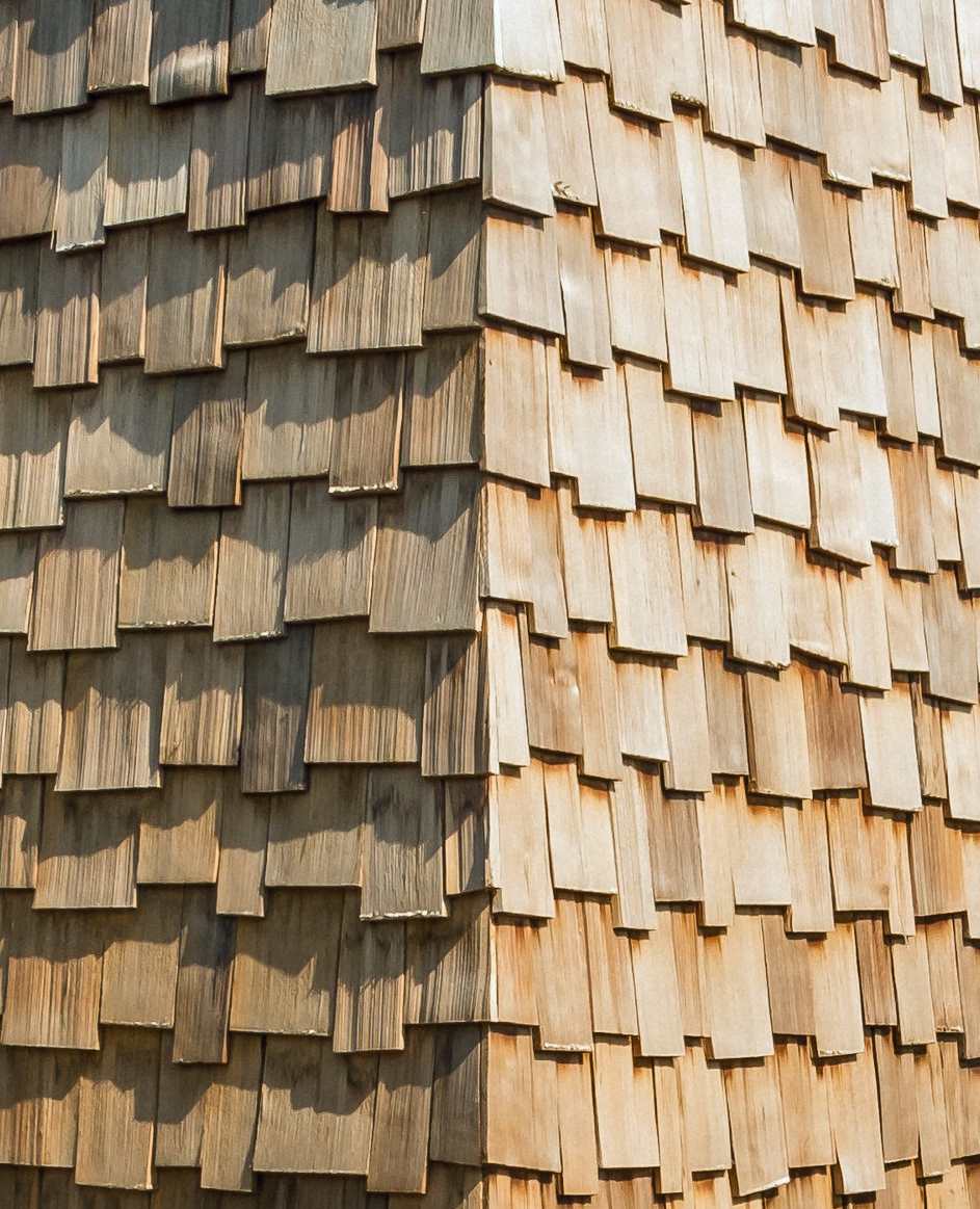 Shingles on home - Residential Architects in Cornwall, Truro