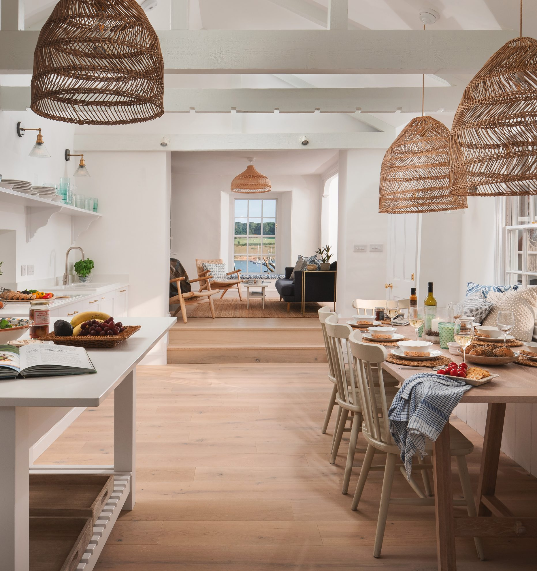 Residential kitchen and diner - Residential Architects in Cornwall, Truro