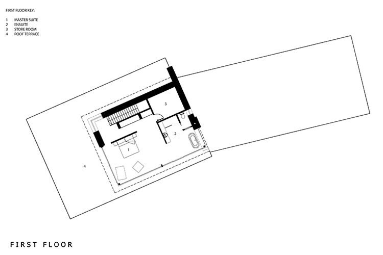 Rosie floor plan - Residential Architects in Cornwall, Truro