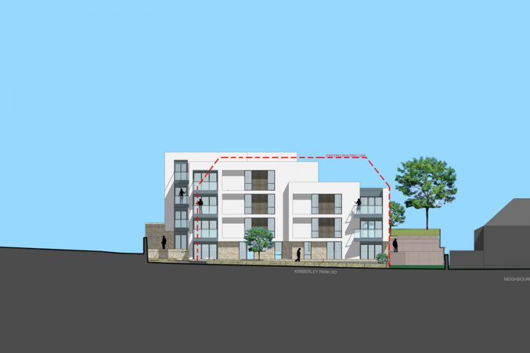 Retirement flats concept in Falmouth in Cornwall - Residential Architects in Cornwall, Truro