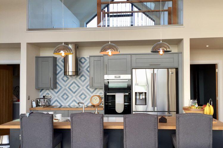 Modern residential farm kitchen in Cornwall - Residential Architects in Cornwall, Truro