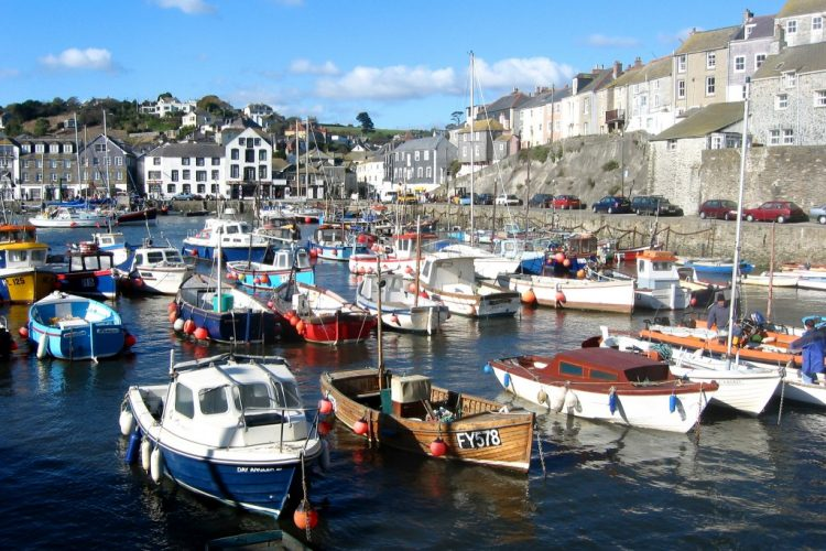 Harbour view of Mevagissey - commercial architects in Cornwall, Truro
